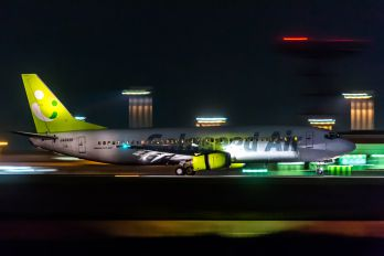 JA392K - Solaseed Air - Skynet Asia Airways Boeing 737-400