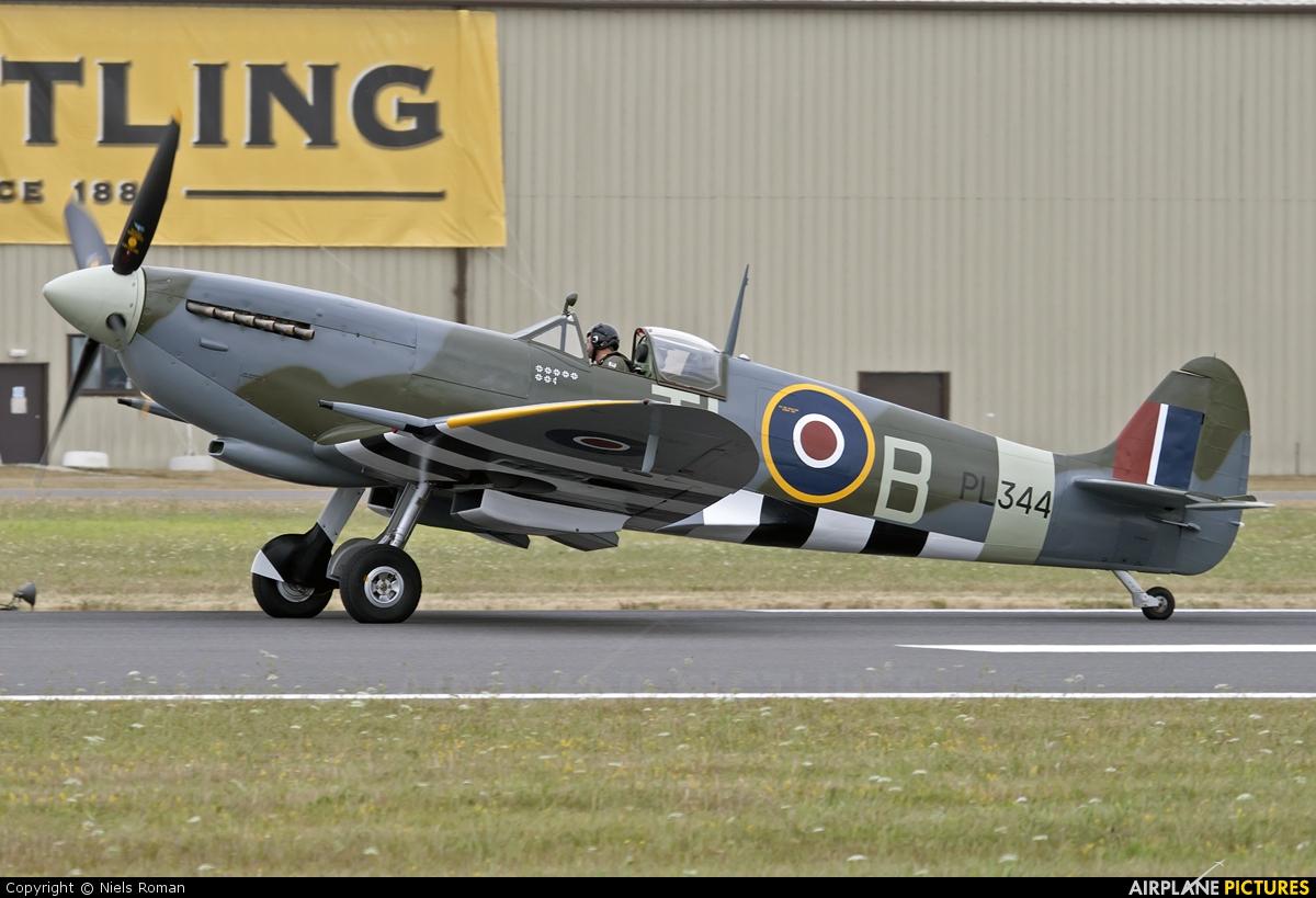 Spitfire G-IXCC aircraft at Fairford