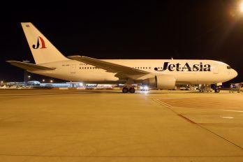 HS-JAK - Jet Asia Airways Boeing 767-200ER