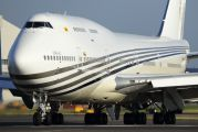 V8-ALI - Brunei Government Boeing 747-400 aircraft