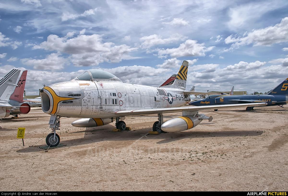 USA - Air Force 31525 aircraft at Tucson - Pima Air & Space Museum