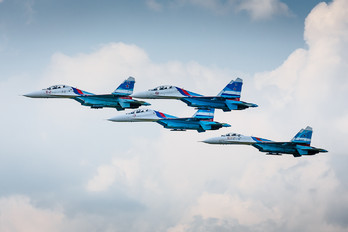 "- - Russia - Air Force ""Falcons of Russia"" Sukhoi Su-27"