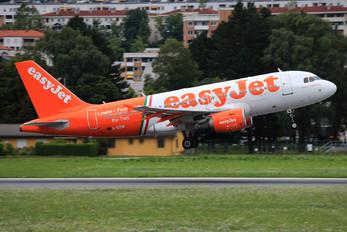 G-EZIW - easyJet Airbus A319