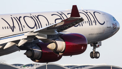 G-VGAS - Virgin Atlantic Airbus A340-600