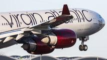 G-VGAS - Virgin Atlantic Airbus A340-600 aircraft
