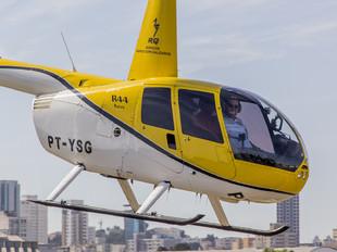 PT-YSG - Private Robinson R44 Astro / Raven