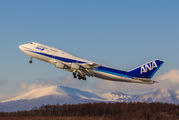 JA8961 - ANA - All Nippon Airways Boeing 747-400D aircraft