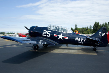 N2834D - Private North American Harvard/Texan (AT-6, 16, SNJ series)