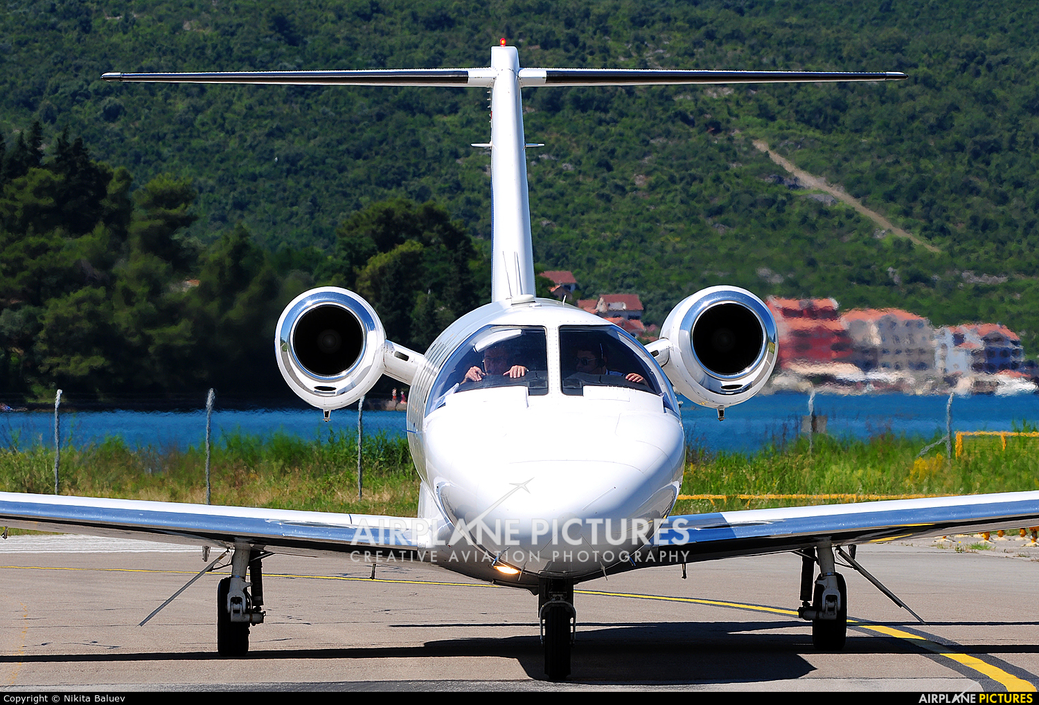 Private OE-FLG aircraft at Tivat