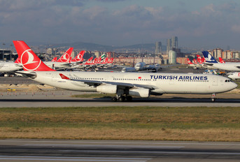 TC-JDM - Turkish Airlines Airbus A340-300