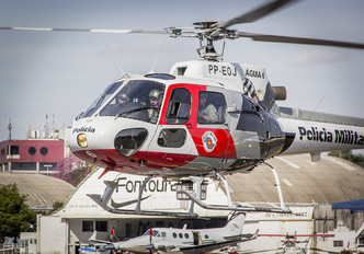 PP-EOJ - Brazil - Military Police Eurocopter AS350 Ecureuil / Squirrel
