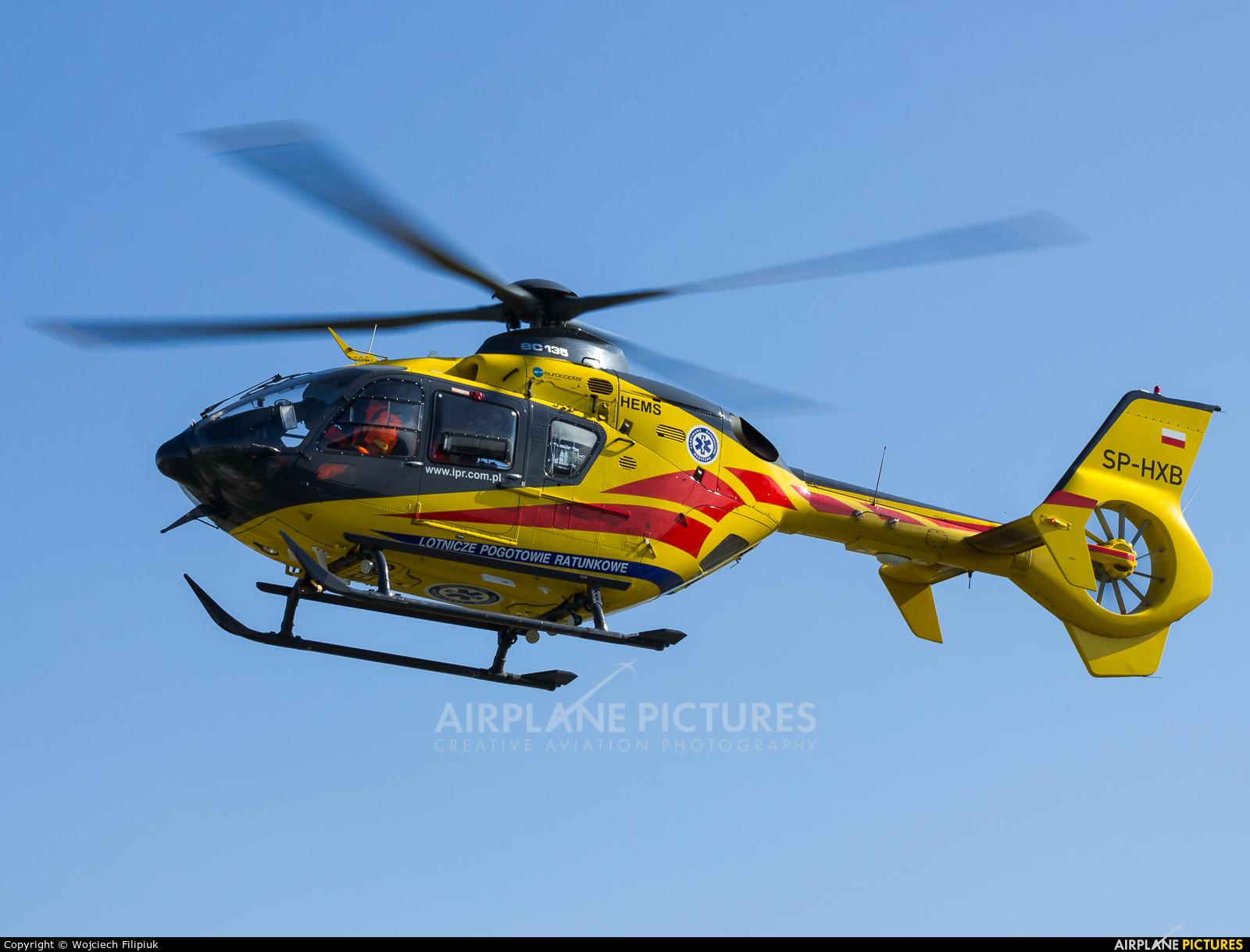 Polish Medical Air Rescue - Lotnicze Pogotowie Ratunkowe SP-HXB aircraft at Biała Podlaska