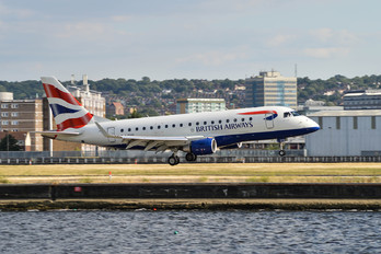G-LCYG - British Airways - City Flyer Embraer ERJ-170 (170-100)