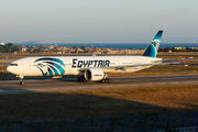 Rare visit of Egyptair 777-300ER at Istanbul title=