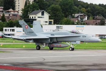 J-5024 - Switzerland - Air Force McDonnell Douglas F/A-18C Hornet