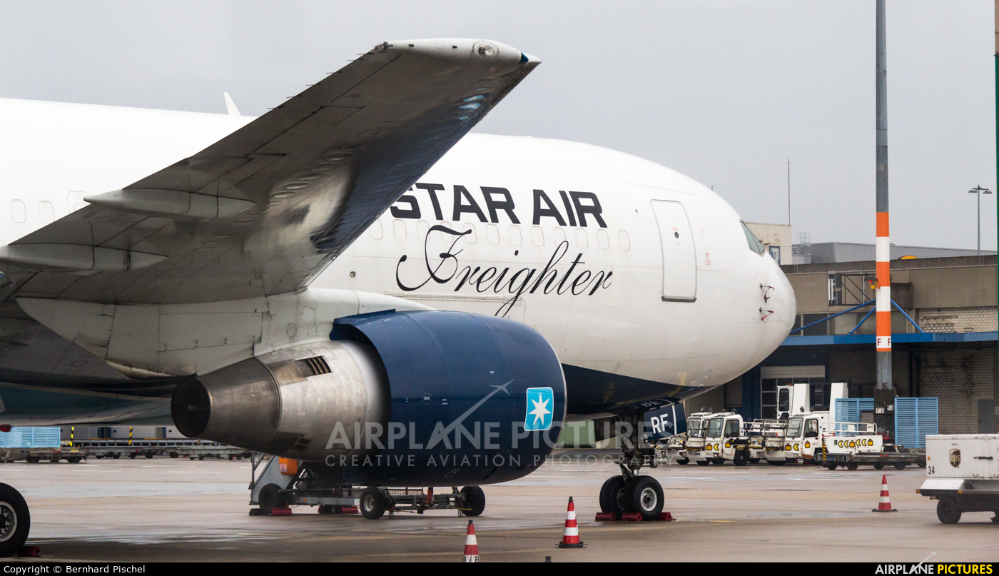 Star Air Freight OY-SRF aircraft at Cologne Bonn - Konrad Adenauer