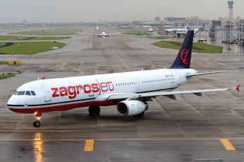YI-AQU - Zagros Air Airbus A321