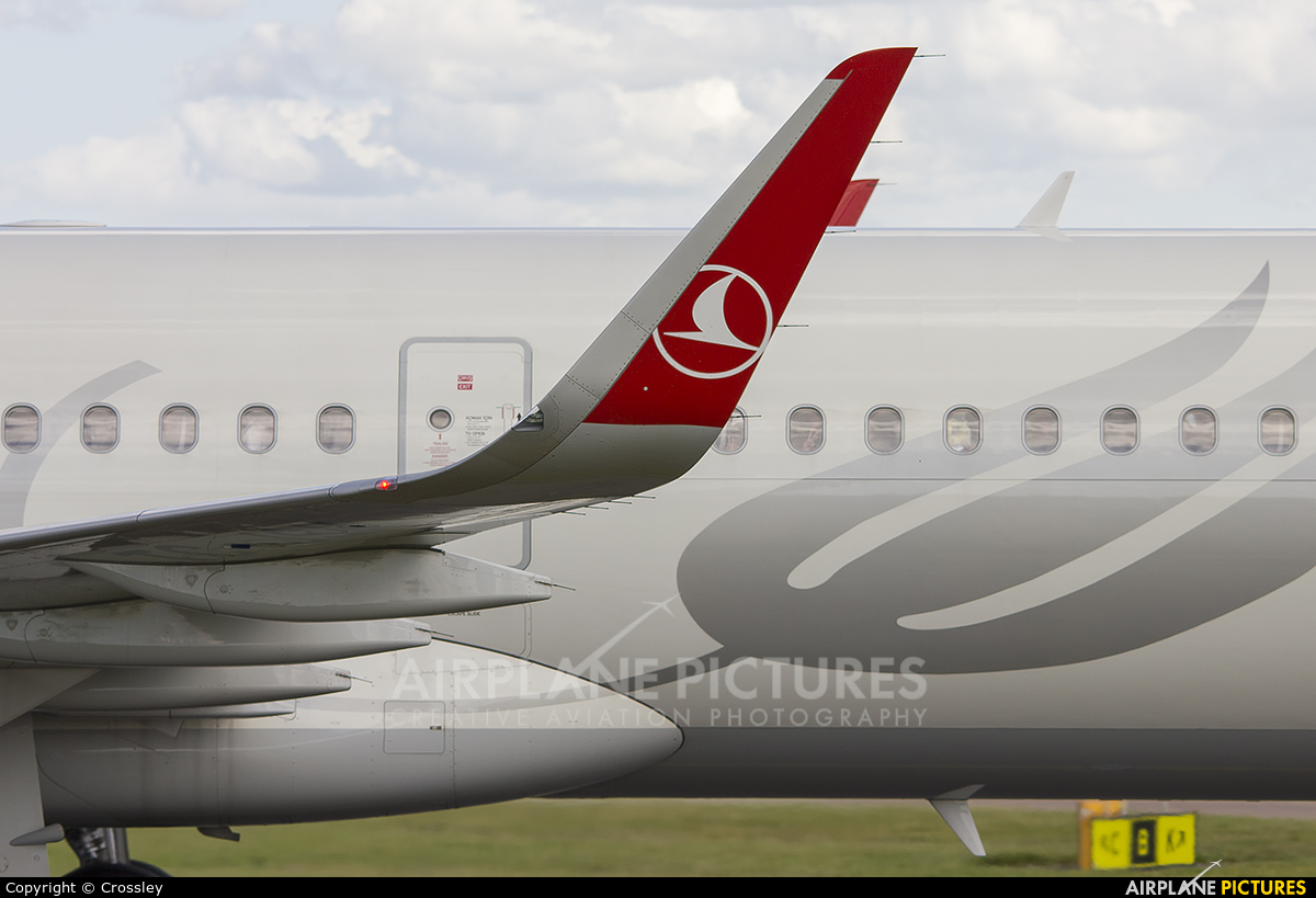 Turkish Airlines TC-JSM aircraft at Manchester