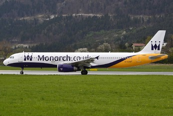 G-OZBP - Monarch Airlines Airbus A321
