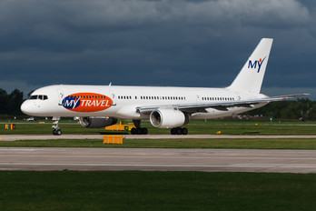 G-WJAN - MyTravel Airways Boeing 757-200
