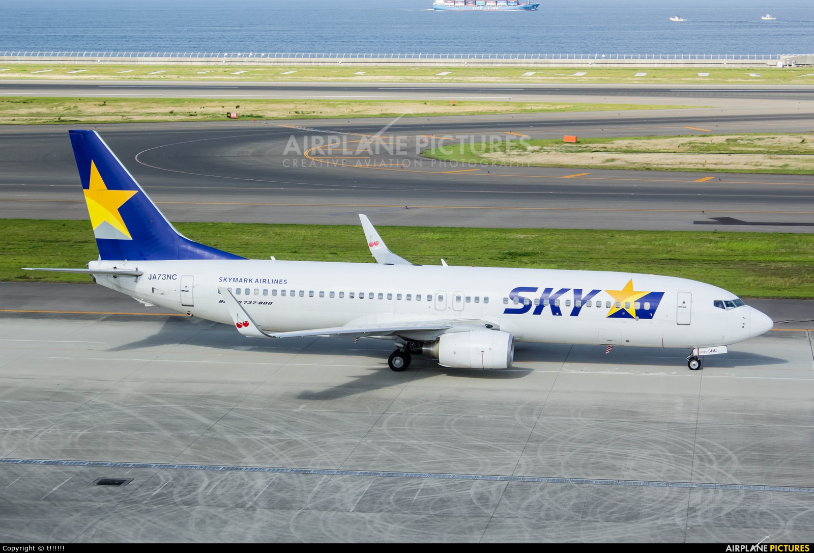 Skymark Airlines JA73NC aircraft at Chubu Centrair Intl