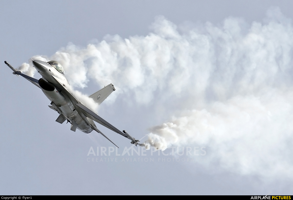 Netherlands - Air Force J-631 aircraft at Fairford