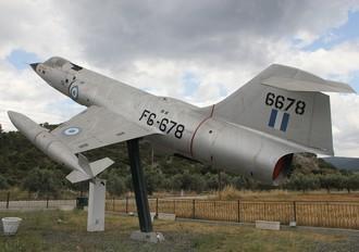 6678 - Greece - Hellenic Air Force Lockheed RF-104G Starfighter