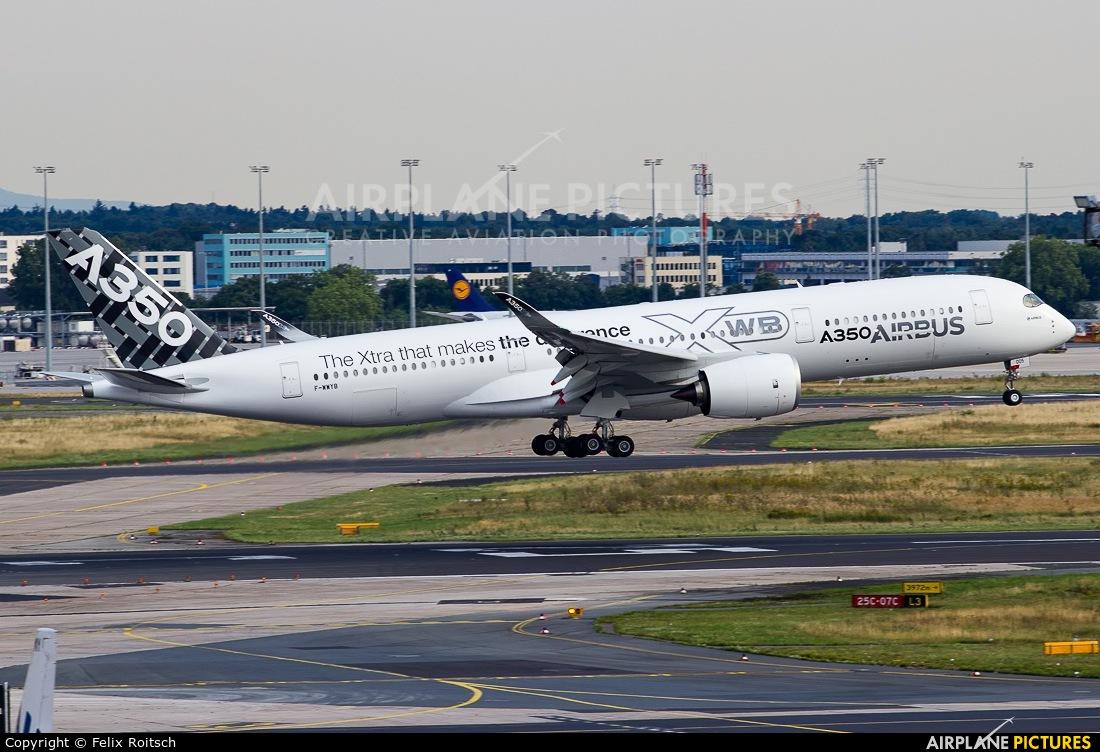 Airbus Industrie F-WWYB aircraft at Frankfurt