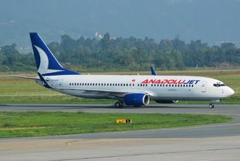 TC-SUO - AnadoluJet Boeing 737-800