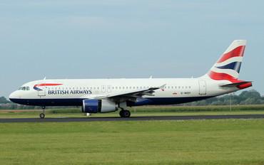 G-MIDY - British Airways Airbus A320