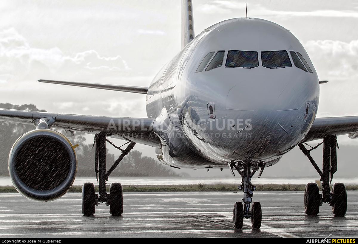 Vueling Airlines EC-MCU aircraft at La Coruña