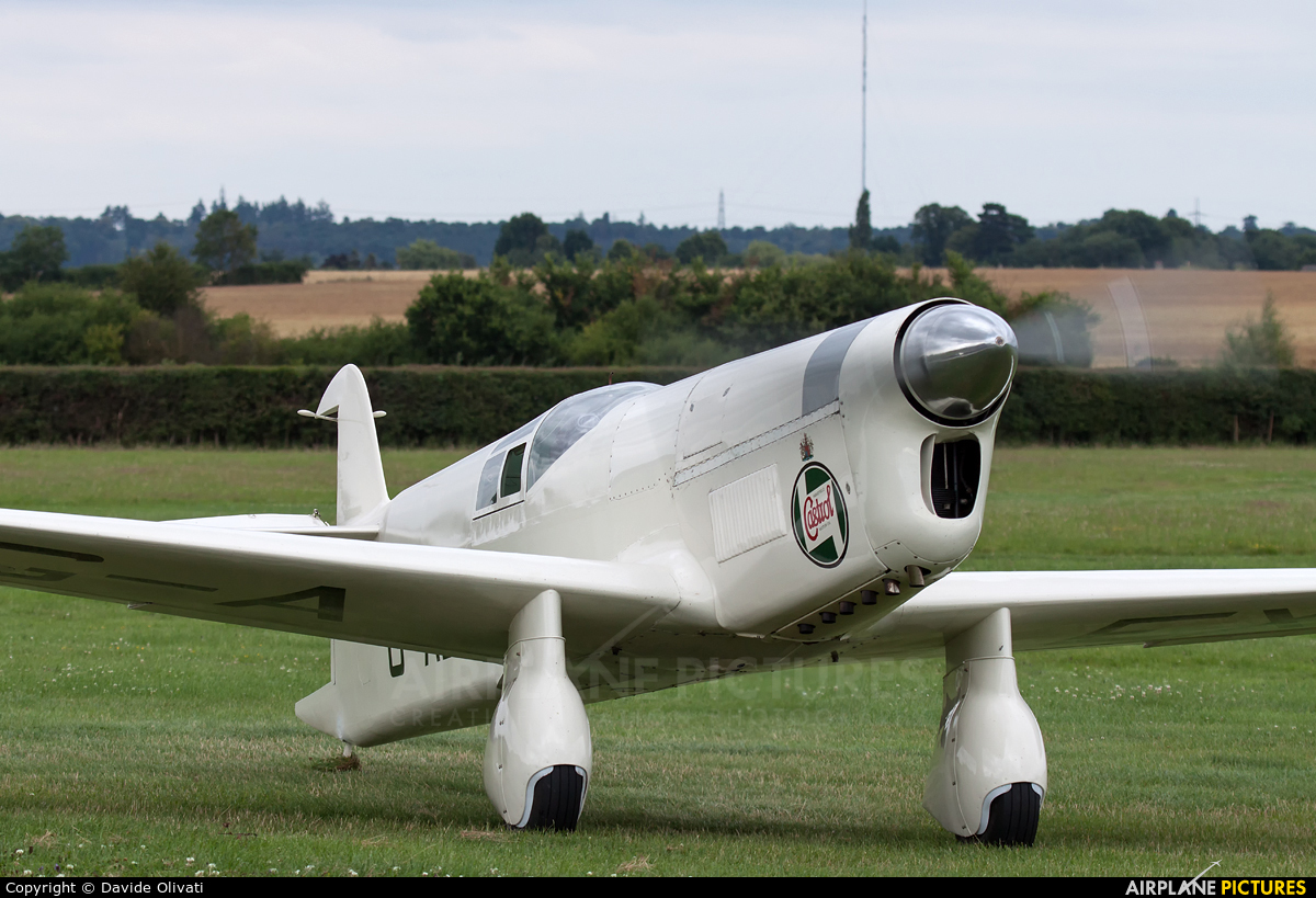 Private G-AEXF aircraft at Old Warden