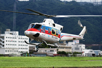 JA6783 - Japan - Ministry of Land, Infrastructure and Transport Bell 412EP