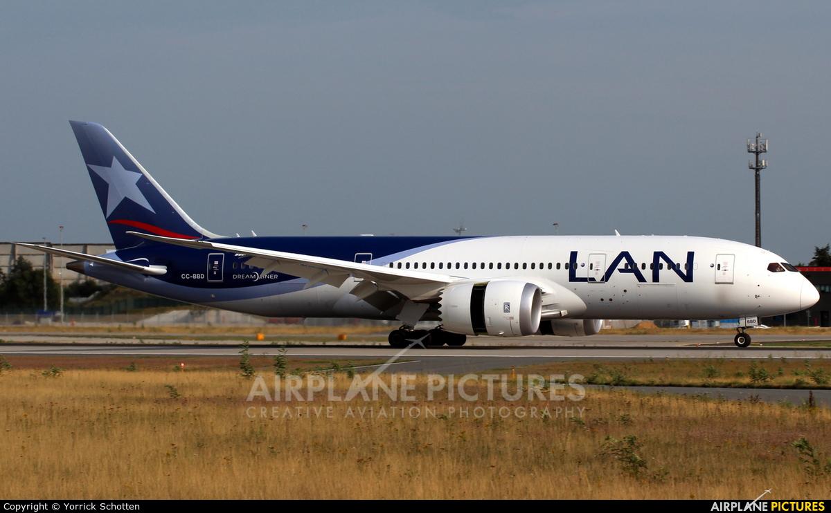 LAN Airlines CC-BBD aircraft at Frankfurt