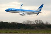 LV-FUA - Aerolineas Argentinas Boeing 737-800 aircraft