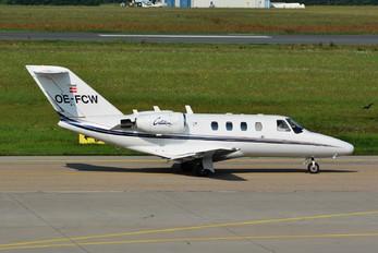 OE-FCW - Private Cessna 525 CitationJet