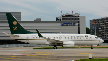 HZ-MF2 - Saudi Arabia - Government Boeing 737-700 BBJ