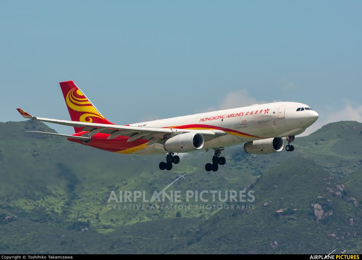 Hong Kong Airlines B-LNW aircraft at HKG - Chek Lap Kok Intl