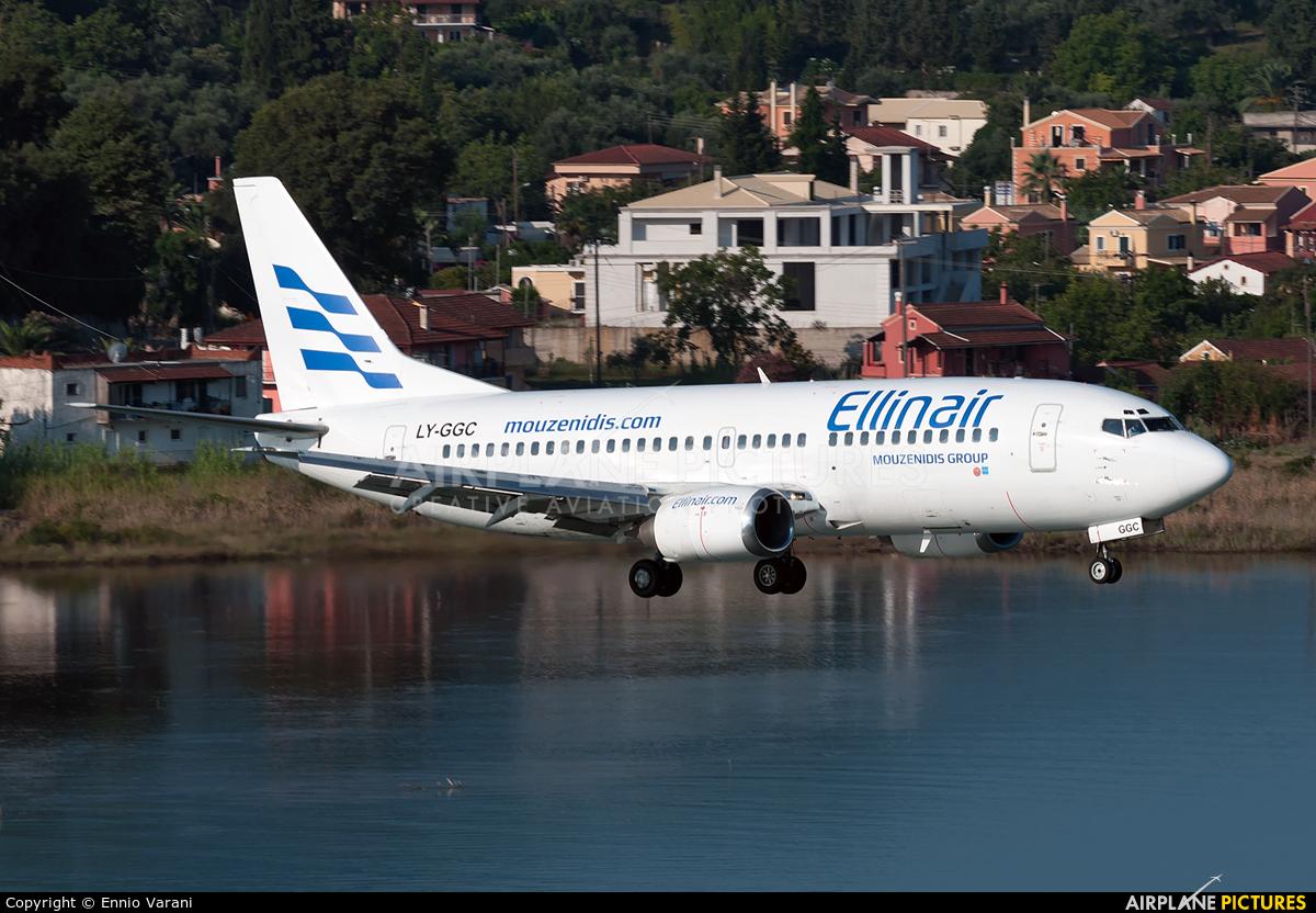 Ellinair LY-GGC aircraft at Corfu - Ioannis Kapodistrias
