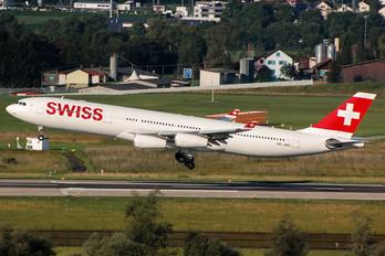 HB-JMN - Swiss Airbus A340-300