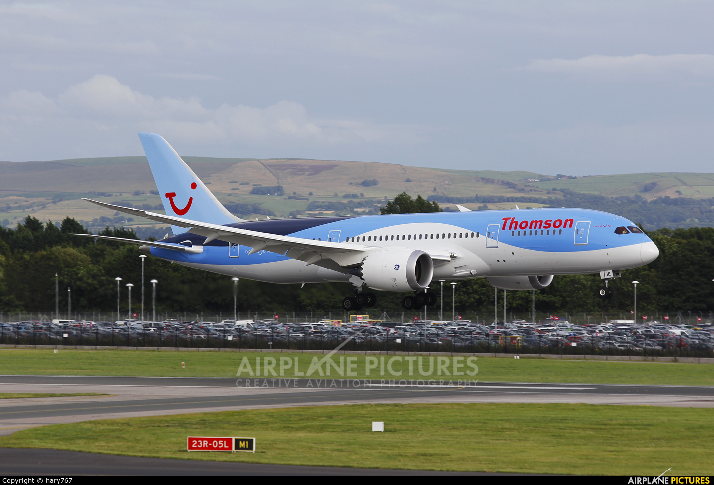 Thomson/Thomsonfly G-TUIE aircraft at Manchester