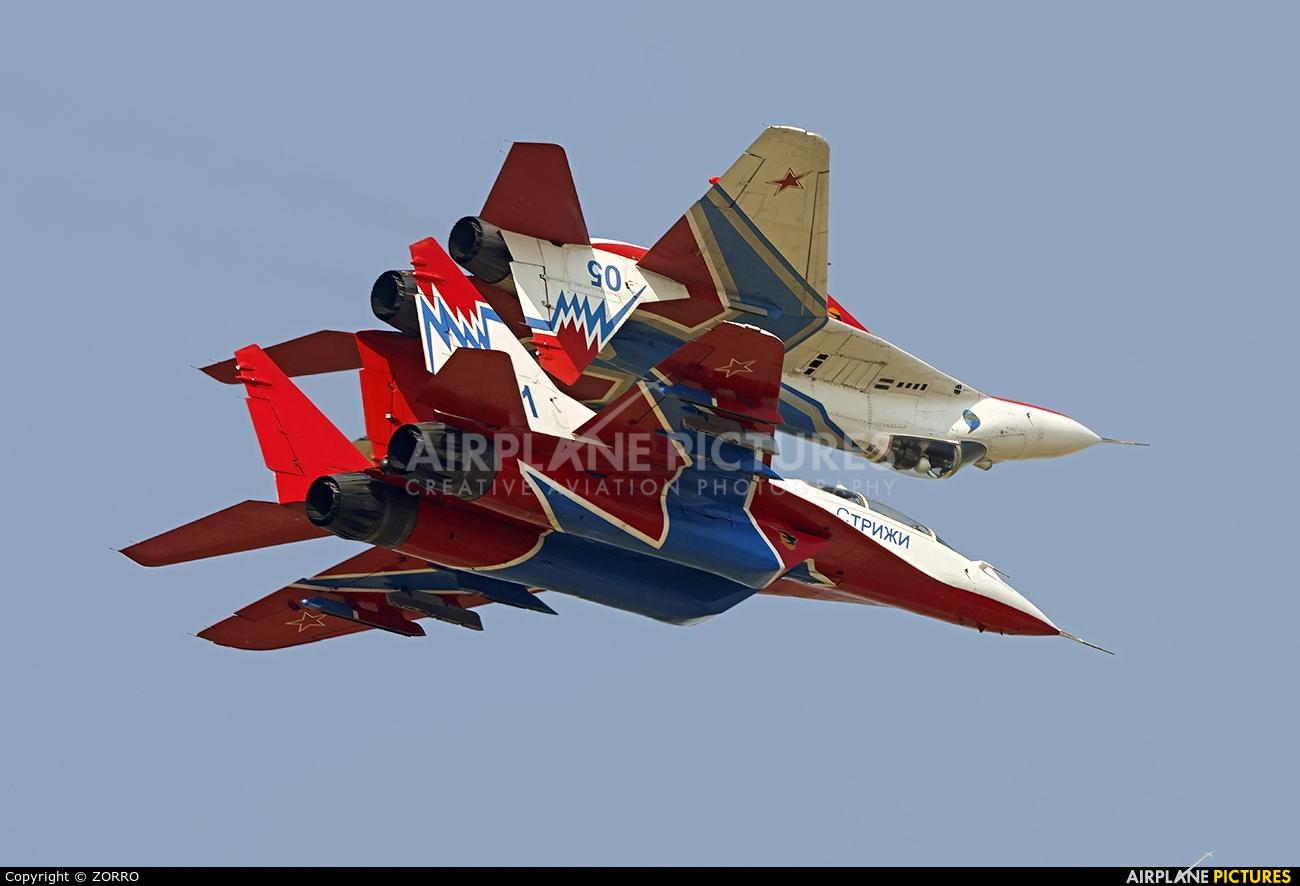 "Russia - Air Force ""Strizhi"" 05 aircraft at Lipetsk"