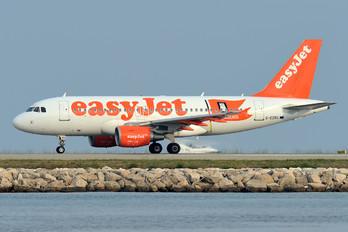 G-EZBG - easyJet Airbus A319