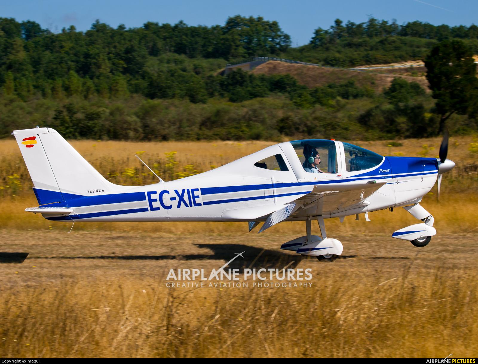 """Private EC-XIE aircraft at Campo de vuelo """"As Lamas"""""""