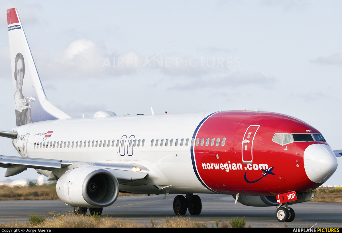 LN-NOP - Norwegian Air Shuttle Boeing 737-800 at Murcia
