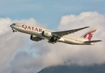 A7-BFE - Qatar Airways Cargo Boeing 777-200F