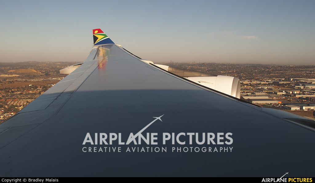 South African Airways ZS-SXE aircraft at In Flight - South Africa