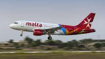 9H-AEM - Air Malta Airbus A319 aircraft