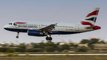 G-DBCA - British Airways Airbus A319 aircraft