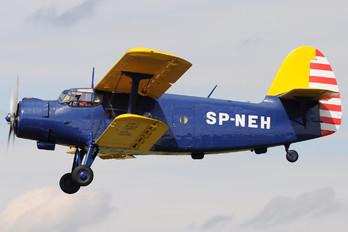 SP-NEH - Aeroclub Zaglebia Miedziowego Antonov An-2